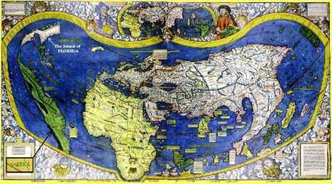 Waldseemuller Map 1507