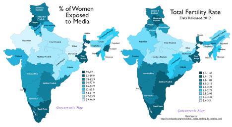India's Plummeting Birthrate: A Television-Induced Transformation? | GeoCurrents