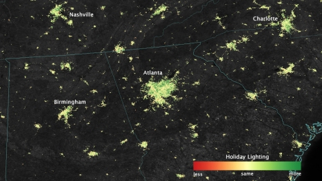 You Can See Our Holiday Lights All the Way From Space | WIRED