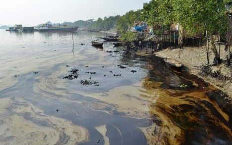 Bangladesh oil clean-up begins amid fears of ecological 'catastrophe' | Al Jazeera America